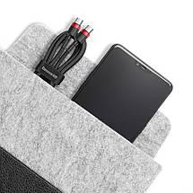 Кабель USB Type-C to Type-C Baseus с поддержкой PD QC 3.0 для зарядки и передачи данных (Черный, 1м), фото 2