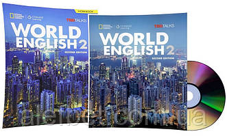 Английский язык / World English. Student's+Workbook+CD, Учебник+Тетрадь (комплект), 2 / NGL