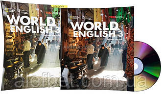 Английский язык / World English. Student's+Workbook+CD, Учебник+Тетрадь (комплект), 3 / NGL
