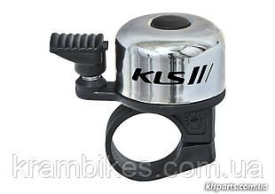 Звонок на руль KLS - Bang Серебро