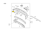 Кронштейн переднего бампера левый, Ланос Сенс, tf69y0-2803025, фото 5