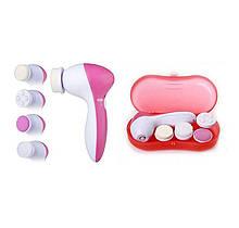 Массажер для лица Facial cleaning set Ae-8782c, 4 в 1