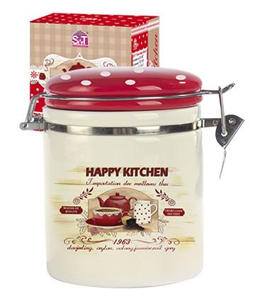 Ёмкость для сыпучих продуктов 0,5л S&T Happy Kitchen 630-11 S&T
