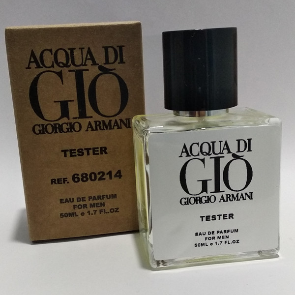 Мужская парфюмированная вода Giorgio Armani Acqua di Gio Pour Homme (Армани Аква Диджи) 50 мл тестер|tester