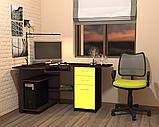 Стол компьютерный СКК - 1 № 4 (Континент) 1000х1350х760мм, фото 2