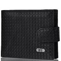 Кошелек с отделением для документов Wanlima Кожаный мужской кошелек WANLIMA (ВАНЛИМА) W31527370442-black