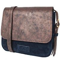 f3b5bf459aff Сумка-почтальонка (мессенджер) Laskara Женская мини-сумка из качественного  кожезаменителя LASKARA (