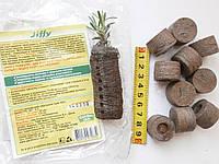 Торфяные таблетки Jiffy-7 для выращивания рассады.