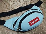 Хорошее качество сумка на пояс Supreme искусств. кожа барсетки сумка женский и мужские пояс только оптом, фото 2