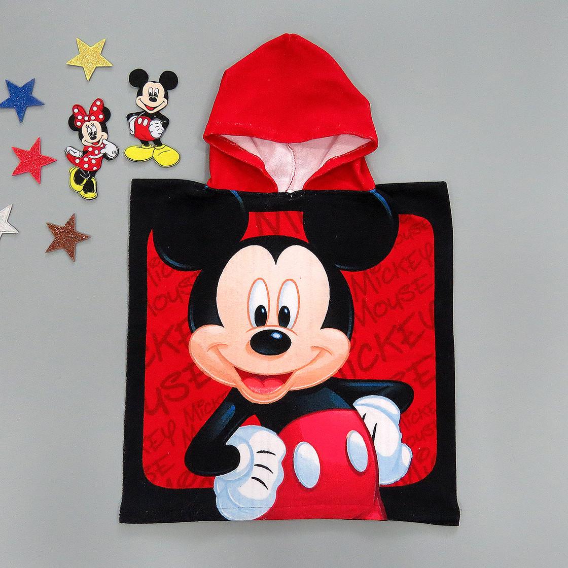 Махровое полотенце-пончо Mickey Mouse для мальчика