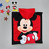 Махровое полотенце-пончо Mickey Mouse для мальчика, фото 2