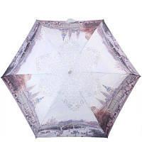 Складной зонт Lamberti Зонт женский облегченный компактный механический LAMBERTI (ЛАМБЕРТИ) Z75116-L1819A-0PB2