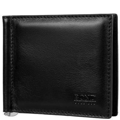 Зажим для купюр BOND Зажим для купюр мужской кожаный BOND (БОНД) SHI439-1