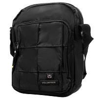 Сумка спортивная Volunteer Мужская сумка VOLUNTEER (ВОЛОНТИР) VT-1590-37-black