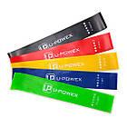 [ОПТ] Резинка для фитнеса и спорта (лента эспандер) эластичная U-Powex Набор из 5 резинок Оригинал, фото 4