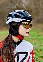 Шлем велосипедный СIGNA TT-4 L (58-61 см) (чёрно-белый), фото 1