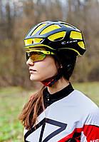 Шолом велосипедний СIGNA TT-4 L (58-61 см) (чорно-жовтий)