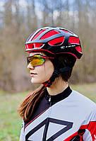Шлем велосипедный СIGNA TT-4 L (58-61 см) (чёрно-красный), фото 1