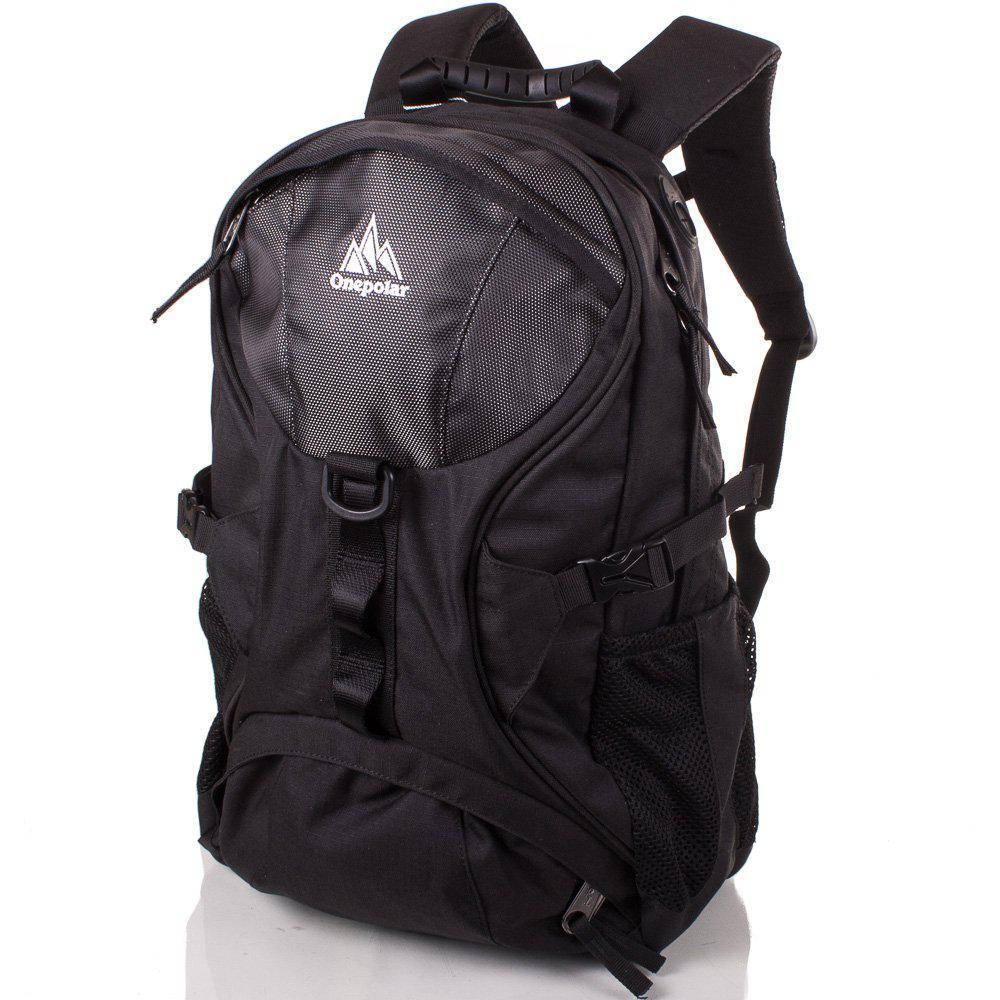 14ef805ed979 Рюкзак спортивный Onepolar Мужской рюкзак ONEPOLAR (ВАНПОЛАР) W1056-black
