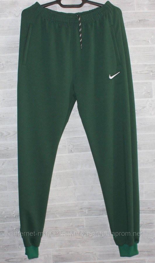 Спорт штаны мужские на манжете nike 46-54 (деми)