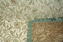 Комплект покривав полуторний Орхідея зелена