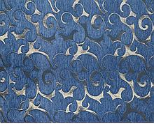 Комплект покривав полуторний Вензель блакитний