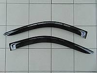 Дефлекторы окон Opel Vivaro,Renault Trafic,Nissan Primastar 2002-2014, ANV комплект ветровиков на скотче