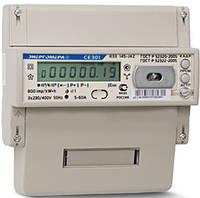 Трехфазный многотарифный электросчетчик Энергомера CE 303U A R33 146 (5-100A)