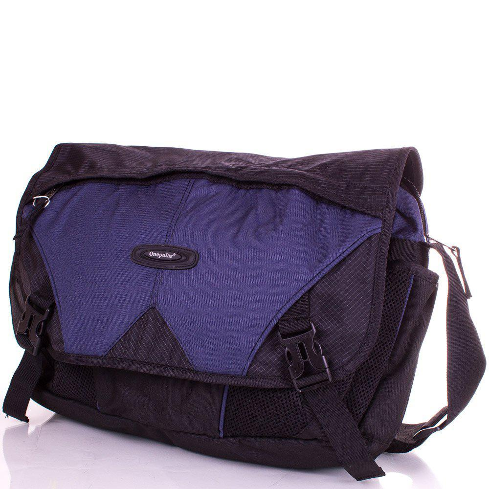 Сумка спортивная Onepolar Мужская сумка ONEPOLAR (ВАНПОЛАР) W5049-navy