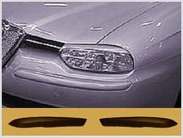 Реснички (накладки на фары) Alfa Romeo 156 ABS-пластик