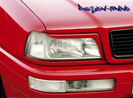 РЕСНИЧКИ / НАКЛАДКИ НА ФАРЫ Audi 80 B4