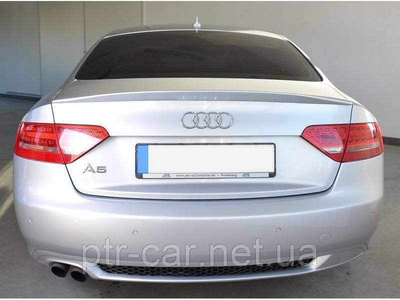 Диффузор заднего бампера Audi A5 coupe S-line с одним вырезом