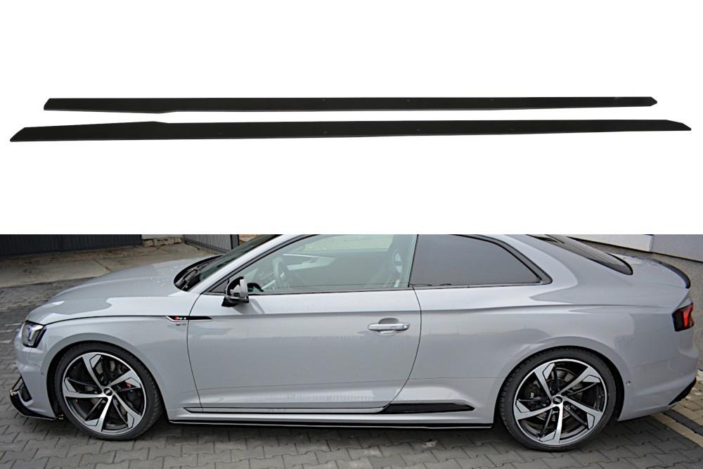 Диффузоры под пороги Audi RS5 F5 MK2 COUPE