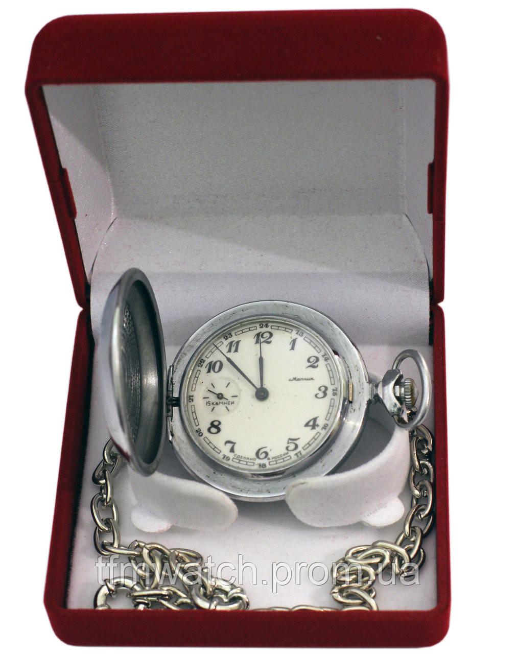Советские карманные часы Молния, фото 1