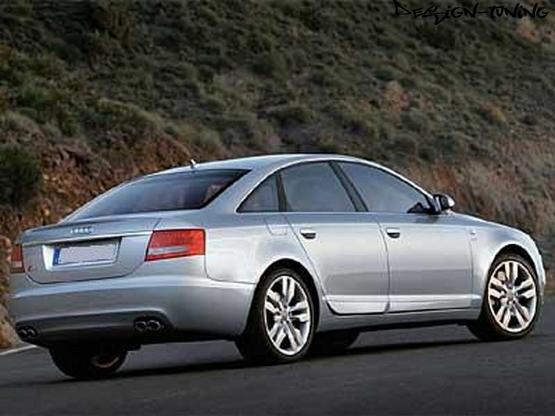 Накладки на двери Audi A6 (C6) стиль S-line