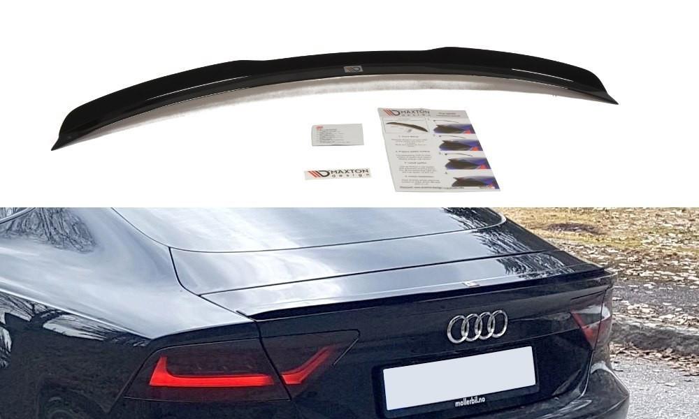 Накладка на спойлер Audi A7 Mk1 S-Line