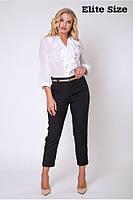 Черные женские брюки размеры 50,52,54,56