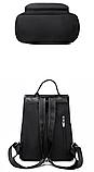 Рюкзак Meidane нейлон черный, фото 3