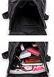 Рюкзак Meidane нейлон черный, фото 4