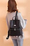 Рюкзак Meidane нейлон черный, фото 5