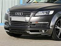 Юбка спойлер переднего бампера Audi Q7 стиль ABT
