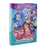 Папка для труда картонная 1 Вересня A4 Enchantimals 491676