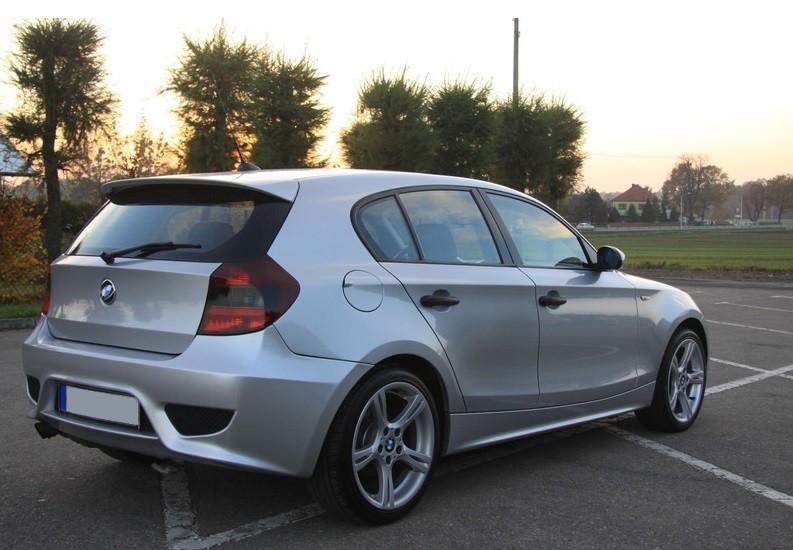 Спойлер крышки багажника BMW E81, E87