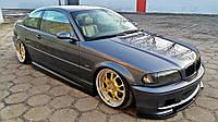 Накладки на пороги BMW 3 E46 Coupe M-pack