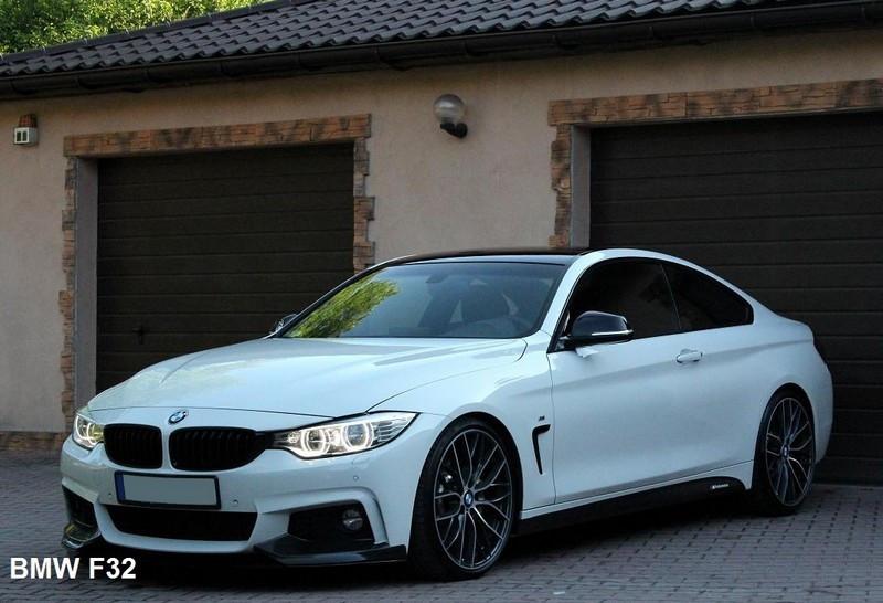 Боковые накладки переднего бампера BMW F32 M-Pakiet