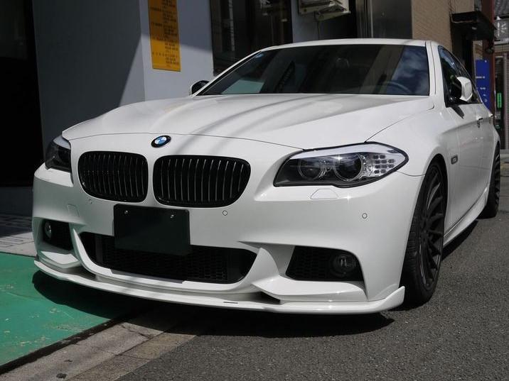 Диффузор переднего бампера BMW 5 F10 M-tech
