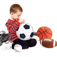 Набор спортивных плюшевых мячиков, MD2179, Melissa&Doug, фото 1