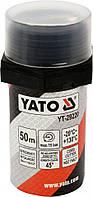 Нить ущілювальна резьбовых соединений l= 50 м, для давления ≤ 15 Bar, в капсуле Yato YT-29220