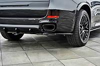 Боковые диффузоры заднего бампера BMW X5 F15 M50d