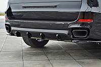 Центральний диффузор заднего бампера BMW X5 F15 M50d